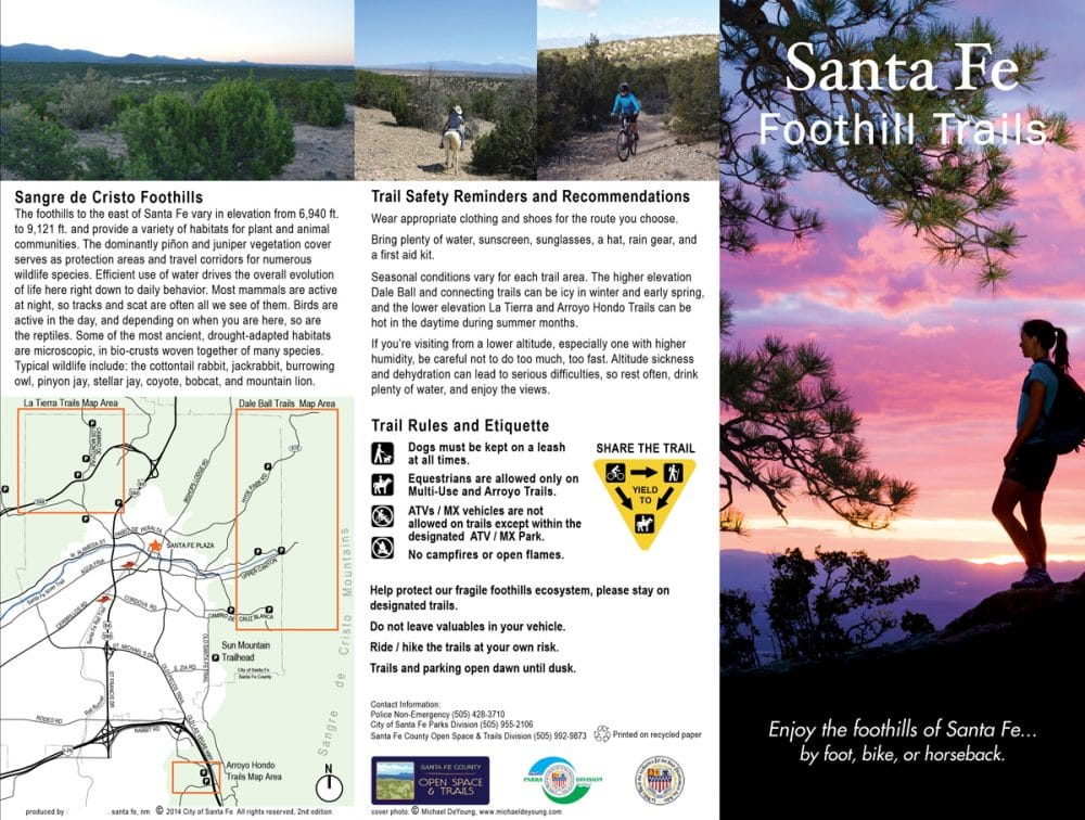 Foothills Trails Map and Trailhead Signage - Design Office