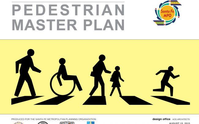 Pedestrian Master Plan cover